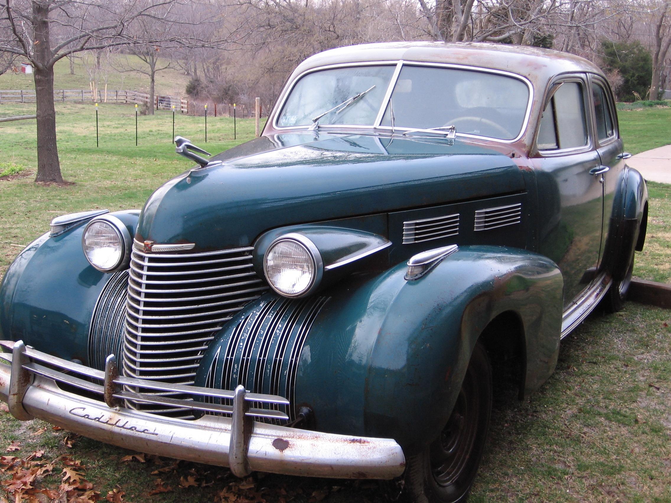 1940 Cadillac 4-Door Sedan.